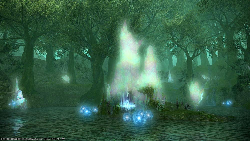 ウルズの泉(黒衣森:南部森林)...