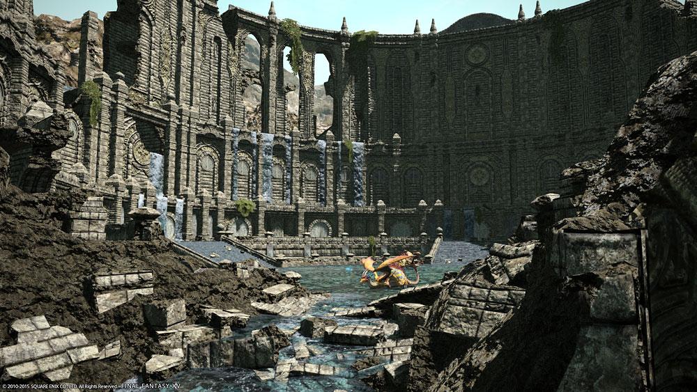 餌食の台地(高地ドラヴァニア) - 観光ガイド | FF14 エオルゼア冒険譚